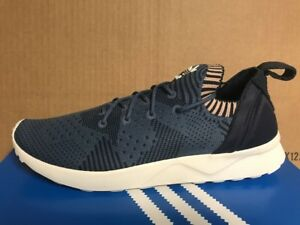 ADIDAS ORIGINALS ZX FLUX ADV VIRTUE PRIMEKNIT WOMEN S BB4265 BLUE ... e8a522d15