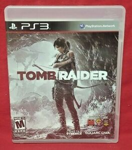Tomb Raider  - Sony PlayStation 3 PS3 Game COMPLETE w/ Manual Works