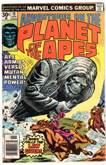 Adventures on the Planet of the Apes #10, Very Fine Condition'