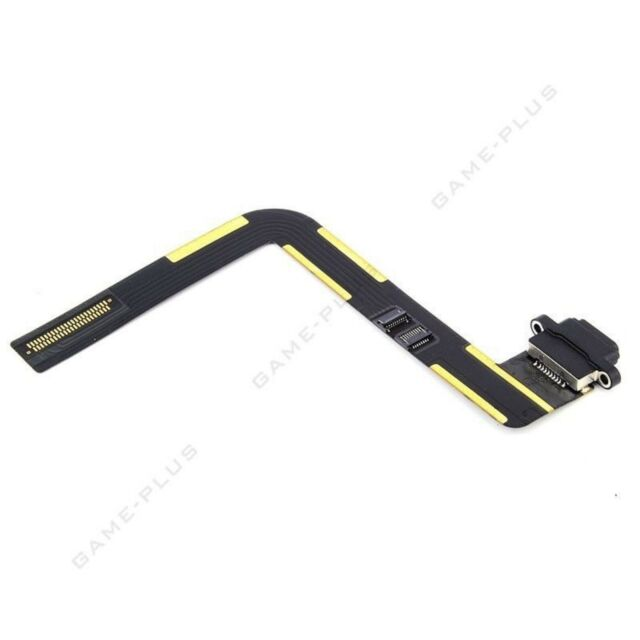 Load Charging Connector Port Dock Flex Cable Ribbon For iPad Air black