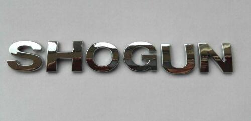 New Chrome 3D Self-adhesive Car Letters badge emblem sticker Spelling SHOGUN