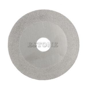 100mm 4/'/' Glass Stone Grinding Cutting Tool Diamond Coated Flat Wheel Disc XSCN