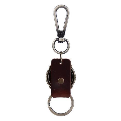 Mens Fashion Alloy Key Chain Ring Keyfob Car Keyring Keychain Simple Gift LC