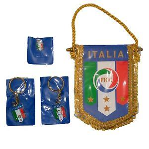 🇮🇹 SPILLA SMALTO PORTACHIAVI BANDIERA NAZIONALE ITALIANA ITALIA TRICOLORE FICG