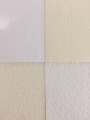 10 x A4 Sheets 300gsm Cream Hammer Card NEW
