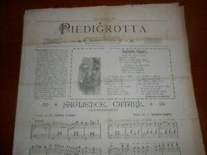 1890-PIEDIGROTTA-NAPOLI-SAGLIENCE-CATARI-CANZONE-BARCAROLA-GIUSEPPE-SAVERIO-POLI