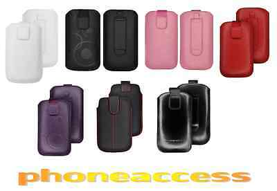 108 dual Sim Beautiful Housse Etui Universel Cuir Taille S ~ Nokia X6 X6-00