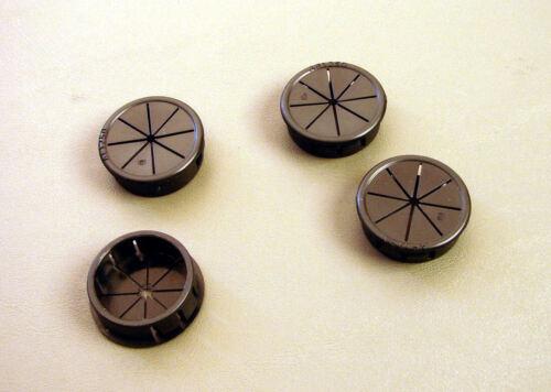 """4 Pack 7//8/"""" Expandable Black Plastic Grommets PG875BKX4"""