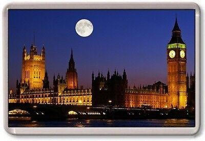 FRIDGE MAGNET - PARLIAMENT - Large Jumbo - London UK England