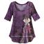 thumbnail 9 - 2012 Disney Designer Villain Dolls EVIL QUEEN Fashion Tee Shirt NWT Size XL