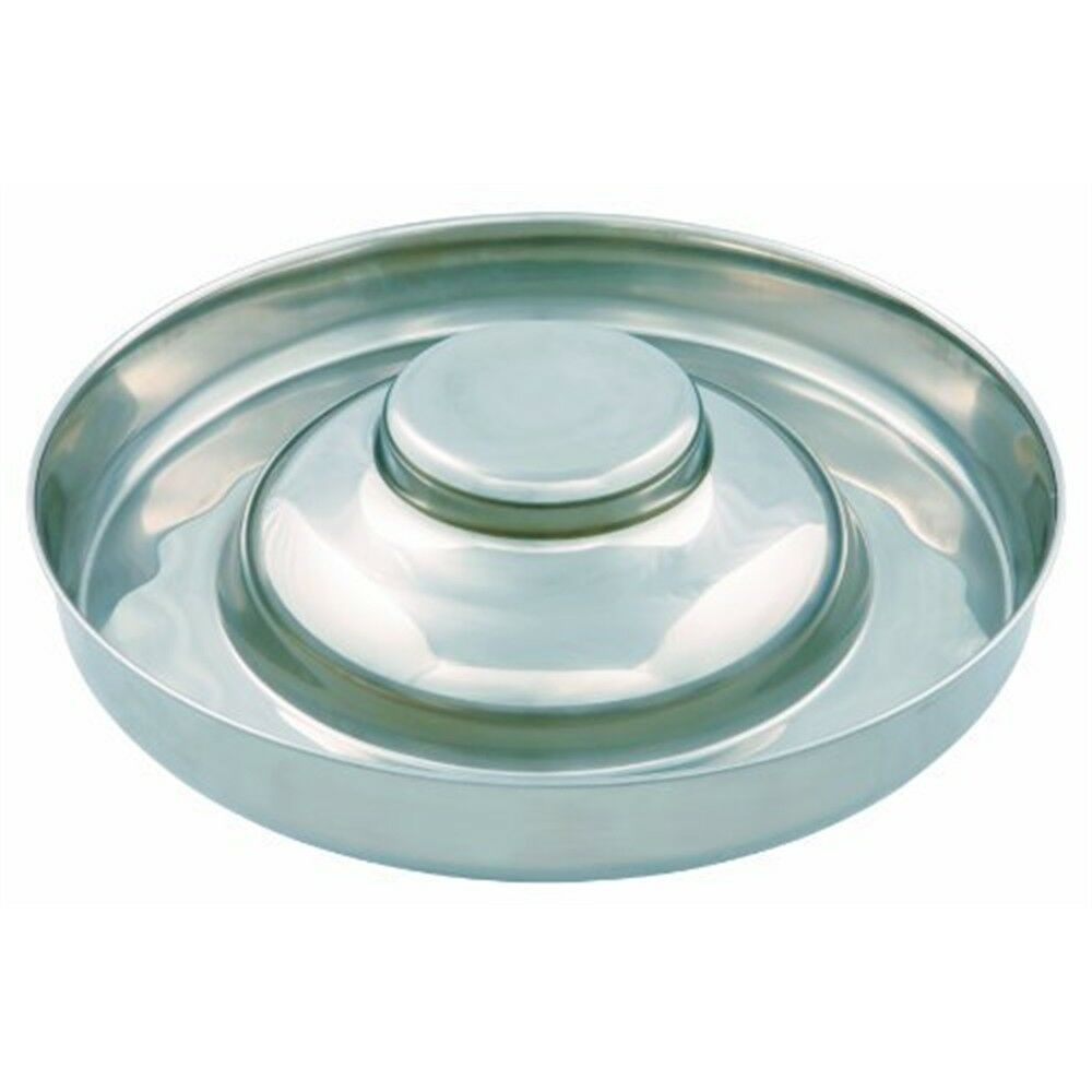 Trixie Puppy Stainless Steel Bowl, 38cm Dia - Bowl Dog Dish Weaning 38cm