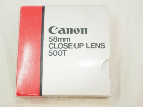 300mm f5.6 FD Lenses Canon 58mm Close-up Lens 500T for 80-200mm f4