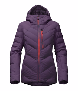 9d54f58b2 Details about North Face Women's Corefire Hooded Down Jacket Dark Eggplant  Purple Large 2017