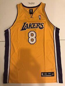 Champion Kobe Bryant 8 Los Angeles LA Lakers NBA Authentic Reebok ...