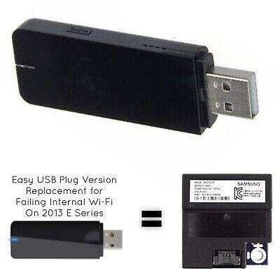 USB Adapter Version Simply Plugs into TV USB Port BN59-01148B BN59-01148C /& BN-5901148D Universal Plug /& Play USB Adapter for Samsung WIDT20R Internal WiFi Card Adapter BN59-01148A
