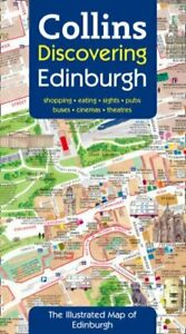 Discovering Edinburgh: Illustrated Map Sheet map, folded