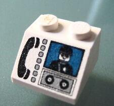 LEGO 3039px14 @@ Slope 45 2 x 2 Phone & Minifig Pattern @@ 6332 6398 6554 6598