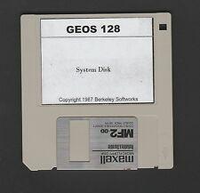Commodore 128 - GEOS 128 - 3.5 inch Disk