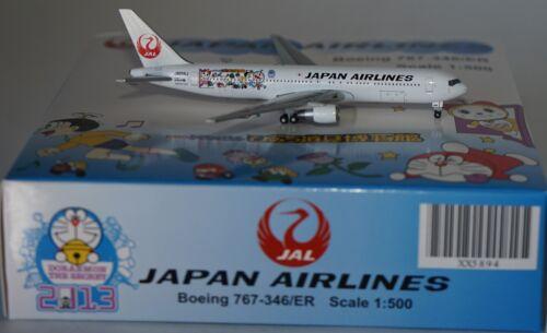 JC Wings XX5894 Boeing 767-346ER Jal Japan Airlines JA656J IN 1:500 Maßstab