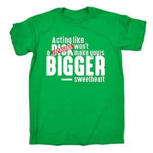 Funny-Tee-Acting-Like-A-Dck-Novelty-Birthday-Christmas-Gift-Mens-T-Shirt