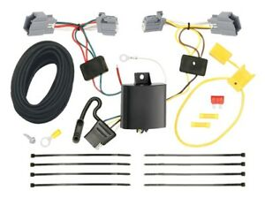 Stupendous Trailer Wiring Harness Kit For 12 18 Ford Focus Sedan Plug Play T Wiring Cloud Hisonuggs Outletorg