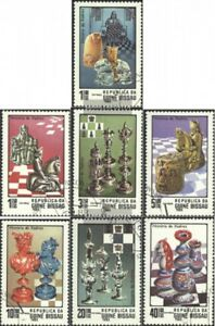 Guinea-Bissau-674-680-complete-issue-used-1983-Chess