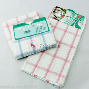 Cotton-Wood-Fiber-Kitches-Tea-Towel-Dish-Cloth-Cleaning-HG-CLN-A02