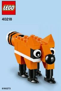 Lego 40218-monthly store build event November 2016-Fox Polybag//Promo