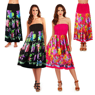 Neue Mode Pistachio Womens Bouquet Flower 2 In 1 Dress Ladies Summer Holiday Long Skirt üBereinstimmung In Farbe