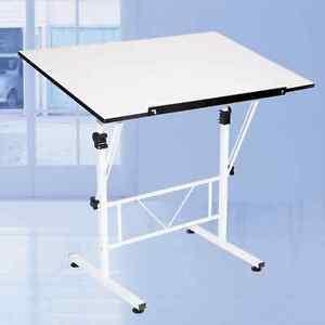 Architect Desk adjustable drafting table tilt drawing art crafting architect desk