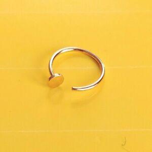 Orecchini-labbro-anello-al-naso-in-puro-585-oro-mare-intimo-Body-Piercing-Studs-Helix-10-mm