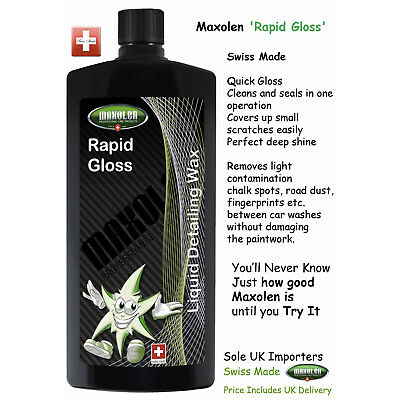 Maxolen Rapid Gloss 500ml Refill ( Quick Gloss Liquid Wax ), Fast Detailer