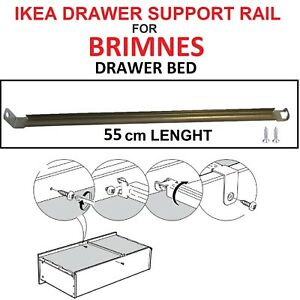 IKEA DRAWER SUPPORT rail for MALM