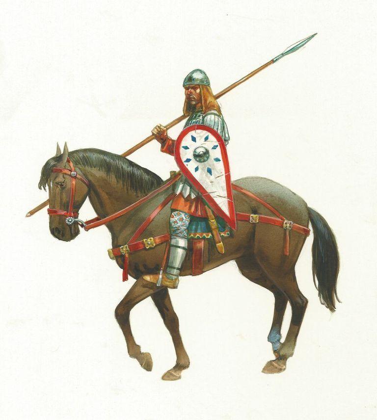 Byzantine Warband (4 points) - Gripping Beast SSB10 - free post P3