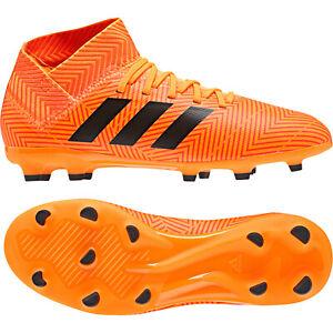 Adidas-Nemeziz-18-3-Fg-J-Enfants-Chaussures-de-Football-Came-Firm-Terrain-Gazon