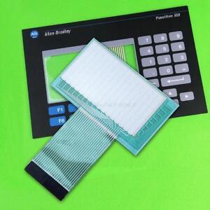 for Allen-Bradley Panelview 550 2711-B5A2 Membrane Keypad + Touch Screen