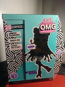 LOL Surprise OMG Series 3 Roller Chick Fashion Doll 20 Surprises SEALED New Box