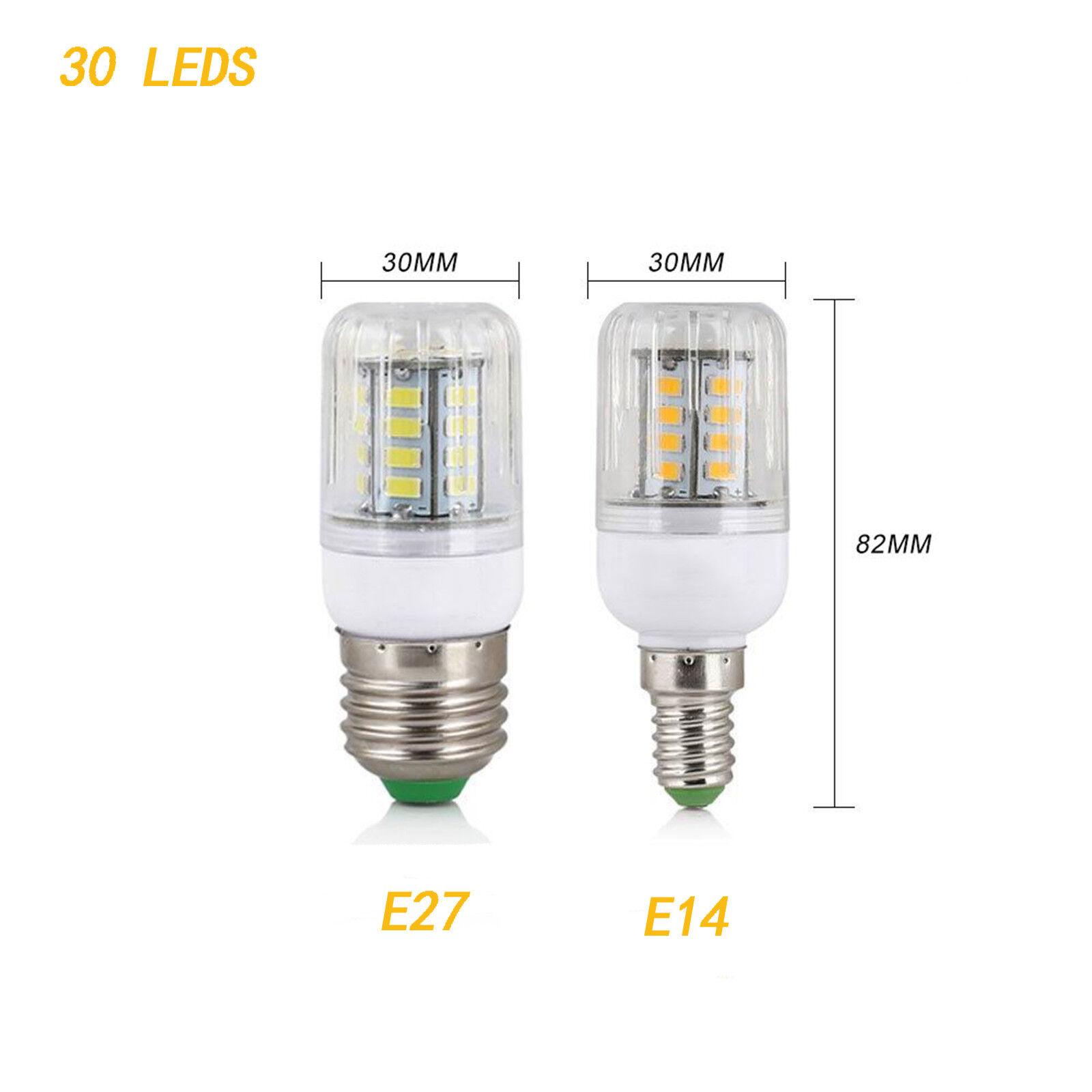 E27 E14 7W 9W 12W 15W 20W 25W 5730 SMD LED Corn Bulb Lamp Light Bright 110/220V 9