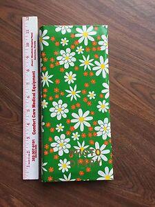 Diary-Photo-Scrap-Album-Vtg-Retro-Flower-Power-Record-Events-w-Your-Pics-amp-Text