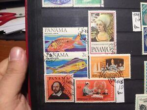 Sellos De Panama . Yvert Nº 421/5. Usados