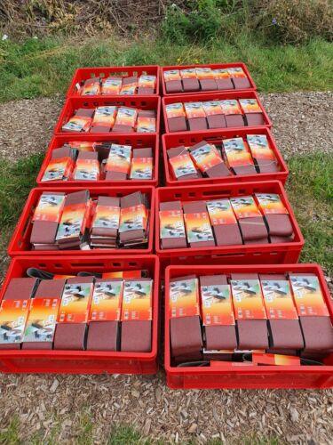 Restposten 45x KWB Schleifbänder Schleifband 100 x 610 mm P60 Bandschleifer