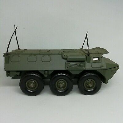 Blindé berliet ALVIS 6X6 amphibie militaire SOLIDO kaki vert 1999/'