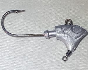 1//2oz HTLURECO Underspin Jig Head Walleye Redfish Trout Fluke 10 Lures