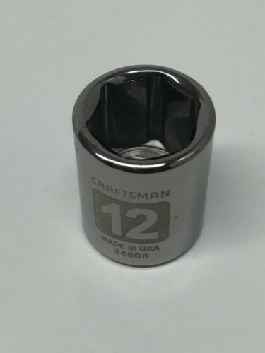 """CRAFTSMAN NEW 1//4/"""" Drive Dual Laser Etched Metric and SAE you choose"""