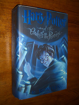 Harry Potter & The Order of The Phoenix #5 J.Rowling First American Edition 2003