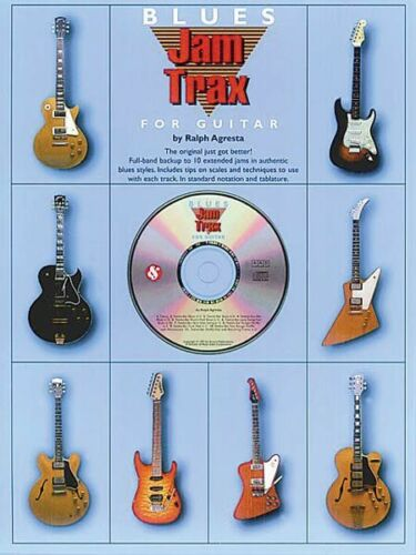 Book and CD NEW 014004691 Jam Trax Blues