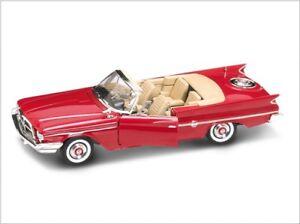 Chrysler-300-F-1960-rouge-1-18-Lucky-Die-Cast