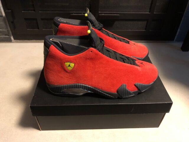 Size 13 - Jordan 14 Retro Ferrari 2014