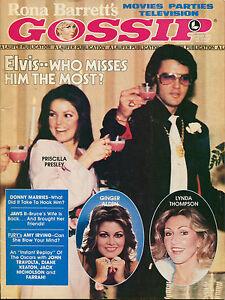 Rona Barrett's Gossip Magazine! October 1976! Lindsay Wagner! Good ++ !