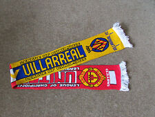 MANCHESTER United v VILLARREAL  Champions League  FOOTBALL Scarf